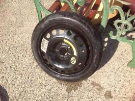 "Wheel 16 "" spare tyre , vectra"