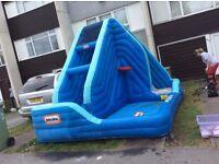 Water slide/pool