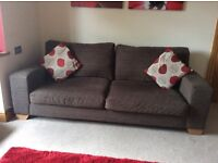 3 and 2 Seater Next Sofas