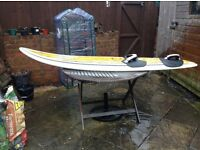 Josh stone freestyle wave 86 litre windsurf boad