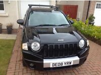 4WD 4x4 JEEP COMPASS LIMITED 2008