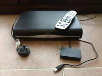 Sky + HD Box with remote & wireless connector