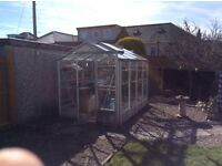 Greenhouse for sale. Buyer must dismantle and collect.