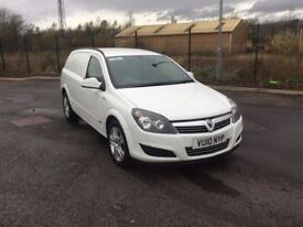 Vauxhall Astra van, 2010, Diesel, 1 owner, Warranty available, Great Driver, Great Condition
