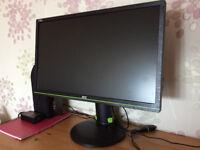 "24"" AOC G2460PG 144 Hz G-SYNC Gaming Display"