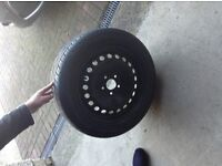 Spare wheel and tyre Ford C-Max/Focus