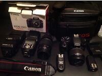 Canon 550D Digital eos Camera Canon Rebel 550 D + Extra lens + bundle