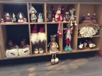 Job lot of Ass Christmas decoration (sass & Bell and other Brands) R.R.P £250 +
