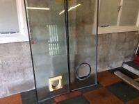 Free Door Glass