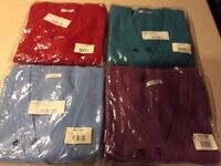 4 New Damart Ladies Cardigans size 18/20 in Orginal Packaging £24.00 for all 4