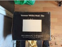 Veneer White Wall Tiles -House Clearance Sale