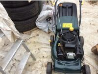 Lawnmower very good condition as new