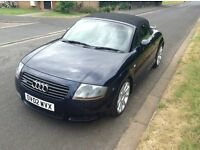 2002 02 audi tt 18 t quattro 225. frenchay park motors clean example. 12 months warranty
