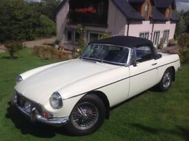 MGB Roadster - Mk 1 - 3-synchro with OD - early 5 bearing engine - restored by previous owner.