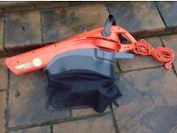 Flymo Garden Vac 2200W Electric Leaf Blower Vacuum