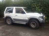 mitsubishi pajero parts/ project