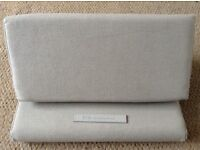 Ipevo padpillow cushion lap support stand khaki beige for laptop kindle iPad tablet