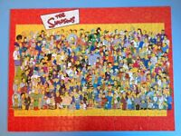 The Simpsons 550 piece double sized jigsaw puzzle - fully complete