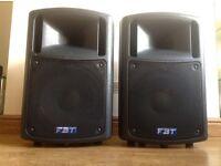 PA Speakers FBT MaXX 400w each