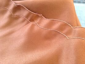 LOVELY TERRACOTTA TABLE CLOTH