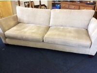 free delivery four seater grey sofa 240 cm great condition.