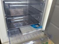 Zanussi floorstanding integrated freezer unused