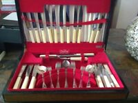 JAMES RYALS CUTLERY SET sold pending collection
