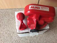 Alko security hitch lock.