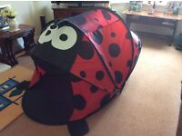 Ladybird Playtent. Suitable for indoors or out.