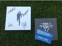 Signed Autographed New RIDE cd Weather Diaries