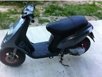 piaggio typhoon 50cc,very low milage,3059kmh-1900miles