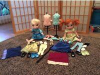 Frozen Childhood Dolls & Accessories (£10)