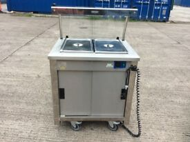 MOFFAT VCBM2 HOT CUPBOARD WITH DRY HEAT BAIN MARIE TOP