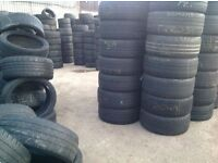 Used tyres / any tyre any size £6.50/ limited offer /unit 90 fresh wharf estate barking
