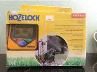 HOZELOCK digital water timer and rain sensor