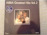 Four ABBA Vinyl Albums