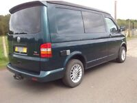 VW T5 pop top camper 1.9tdi