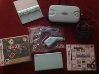 Nintendo ds lite with accessories & 2 games