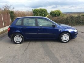 FIAT STILO ACTIVE 5door hatchback.6speed gearbox.MOT 21/6/18 EXCELLENT CONDITION.
