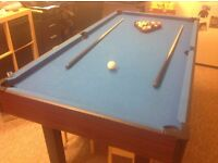 6FT x 3FT Pool & Snooker Table
