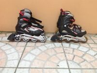 Brooklyn Roller Blades 2 pairs size 5 and 6