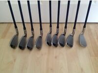 A Set Of Golf Irons Clubs For Sale.