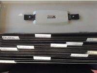 Metal fire resistant filing box