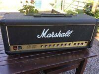 Marshall JCM800 2210 100W split channel valve amplifier head 1987
