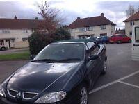 Renault Megane convertible 73k lots of paperwork etc no texts