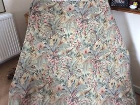 Upholstery fabric approx 11yds