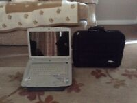 ACER LAP TOP WITH A STAND & CARRYING CASE
