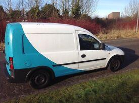 Vauxhall crew van , good overall condition