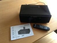 Roberts Sound MP43 DAB/FM/CD Sound System with iPod dock