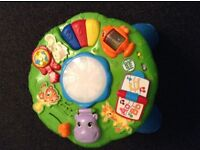 Leapfrog musical activity learning table